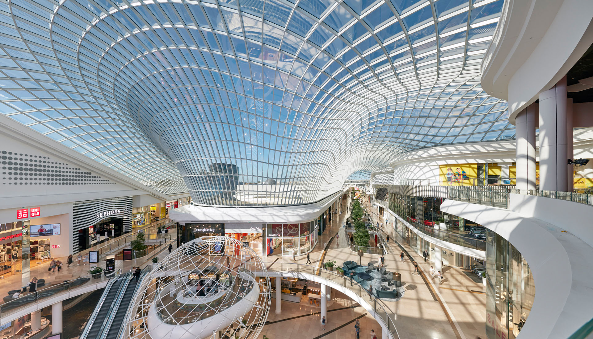 Chadstone Shopping Centre – Glasdach