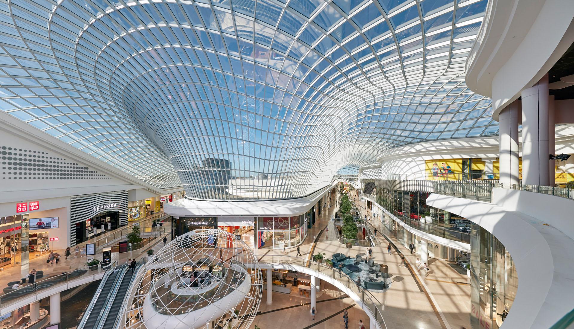 Chadstone Shopping Centre – Glasdach